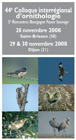 44ème Colloque d'ornithologie